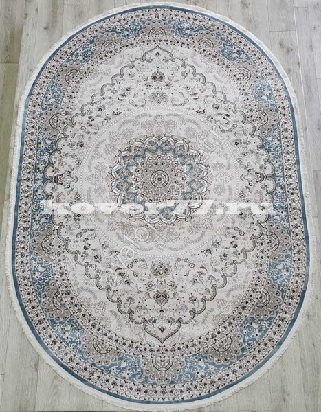 KIRMANSAH 29002A OVAL BLUE VIZON