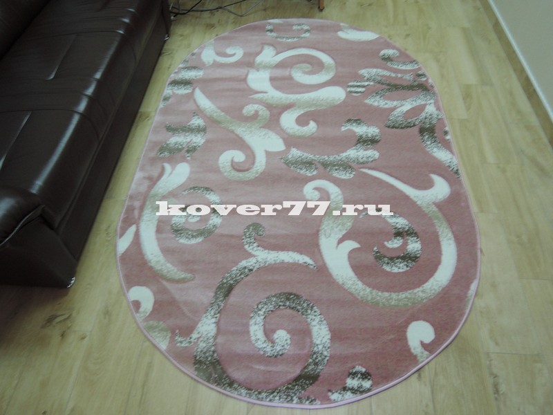 Pasa carving 1491 pink oval