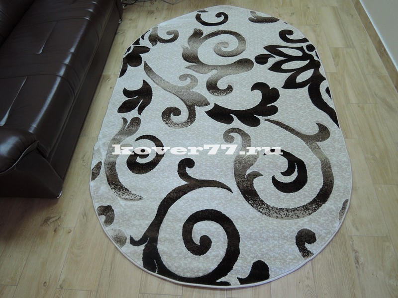 Pasa carving 1491 cream oval