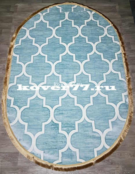 IHTISAM 22760d oval blue cream