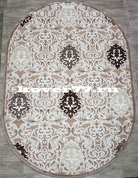 Everest 2501vb d.beige d.beige oval