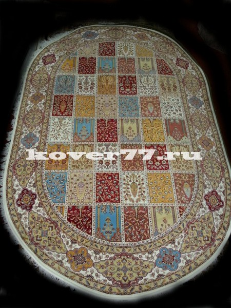 Abrishim 3 milyon (silk) 3803 cream oval