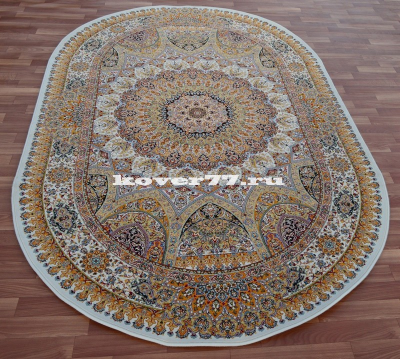 Abrishim 3 milyon (silk) 3809 cream oval