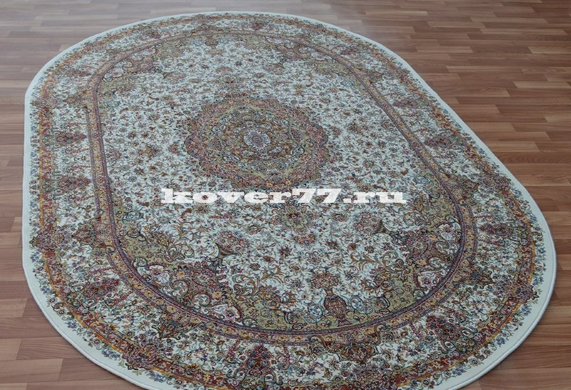 Abrishim 3 milyon (silk) 3814 cream oval