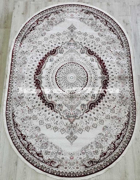 KIRMANSAH 29003A OVAL RED VIZON