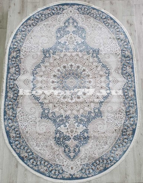 KIRMANSAH 29001A OVAL BLUE VIZON