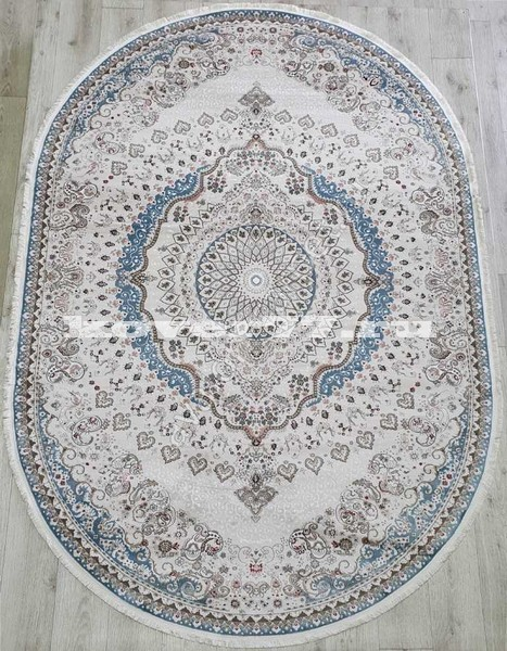 KIRMANSAH 29003A OVAL BLUE VIZON